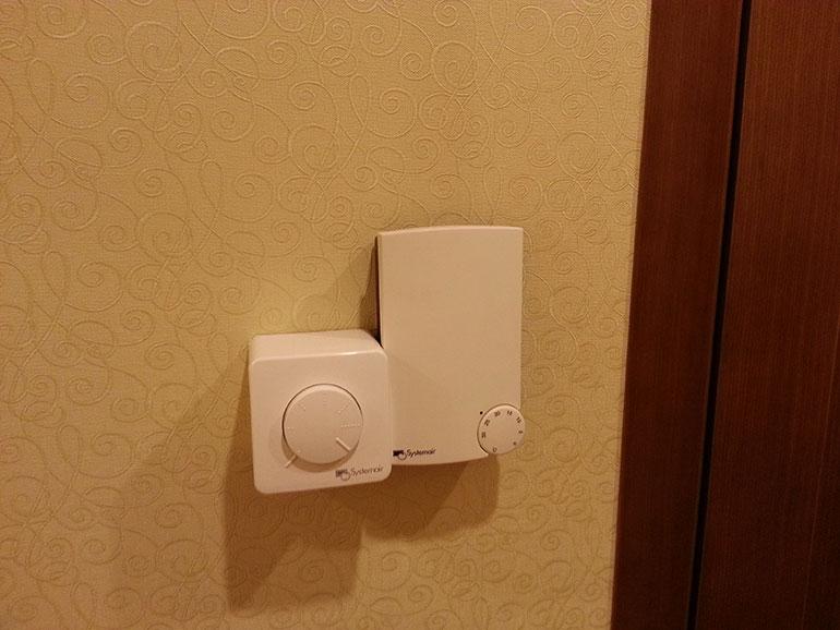 приточная вентиляция в квартире. пульт управления