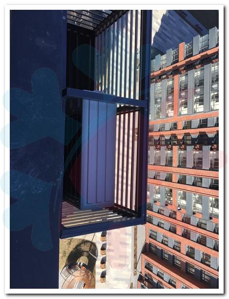 Закладка коммуникаций под кондиционеры. Адрес: г. Москва, Шелепихинская наб., д. 34, к. 1