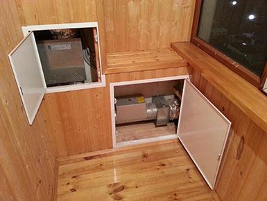 приточная вентиляция в квартире. установка на балконе